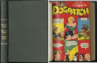 LI'L ABNER-RELATED COMICS HARDBACK BOUND VOLUME 1949-52
