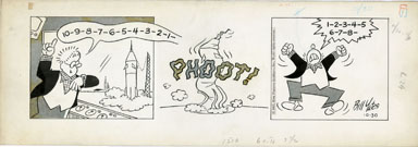 BILL YATES - PROF PHUMBLE DAILY ART 10-30-61 PHOOT SHIP