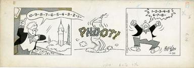 BILL YATES - PROF PHUMBLE DAILY ART 10-30-61 PHOOT SHIP