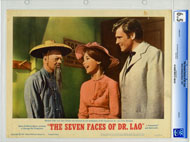 7 FACES OF DR. LAO (1964) CGC GRADED LOBBY CARD SET OF 8