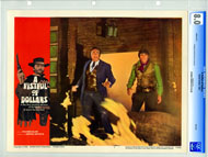 A FISTFUL OF DOLLARS (1967) - CGC LOBBY CARD SET OF 8
