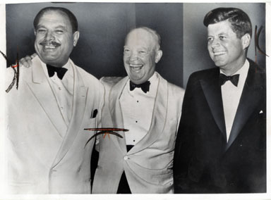 UPI NEWS PHOTO: EISENHOWER / JOHN F. KENNEDY (1961) IKE