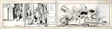 CLIFFORD McBRIDE - NAPOLEON DAILY ORIG ART 11-2 MOUSE
