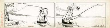 CLIFFORD McBRIDE - NAPOLEON DAILY ORIG ART 1935 BEEHIVE
