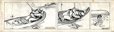 CLIFFORD McBRIDE - NAPOLEON DAILY ORIGINAL ART 7-12 ZZZ