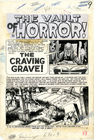 JOE ORLANDO - TALES FROM THE CRYPT #39 CMPLT 7-PG STORY