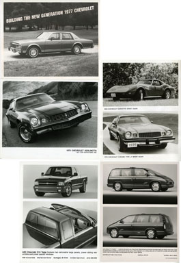 NEWS PHOTO: CHEVROLET CARS / AUTOMOBILES 1975 - 1994