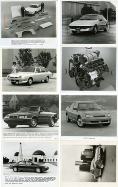NEWS PHOTO: CHRYSLER CARS/AUTOMOBILES 1977-95 MASERATI