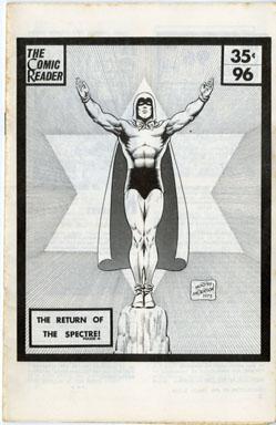 COMIC READER # 96 (1973) FANZINE MURPHY ANDERSON COVER