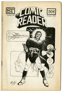 COMIC READER #123 (1975) FANZINE CHAYKIN STAR*REACH CVR