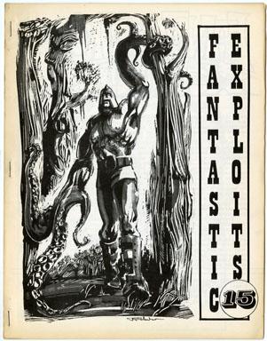 FANTASTIC EXPLOITS #15 (1970) FANZINE Frazetta Reprint