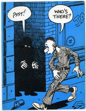 WITZEND #8 FANZINE (1971) DITKO WOOD POE FRANK FRAZETTA