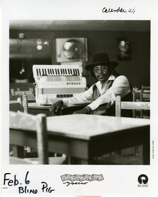 NEWS PHOTO: BUCKWHEAT ZYDECO PROMO PIC (1996)
