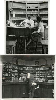 NEWS PHOTOS: BOOTLEGGING ALCOHOL (1952) DETROIT