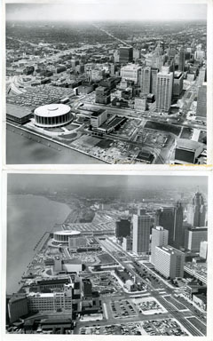 NEWS PHOTOS: DOWNTOWN DETROIT / WATERFRONT (1962)