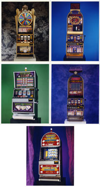 NEWS PHOTOS: GAMBLING / POP CULTURE-BASED SLOT MACHINES