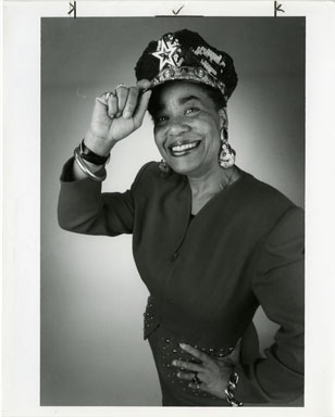 NEWS PHOTO: DETROIT COUNCILWOMAN KAY EVERETT (1992)