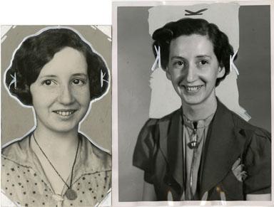 NEWS PHOTO: RUTH DesJARDINS  SPELLING BEE CHAMPION 1930