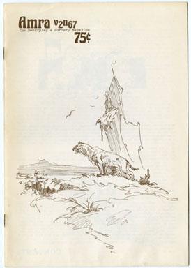AMRA V2 #67 FANZINE (1977) ROY KRENKEL / L. SPRAGUE DeCAMP