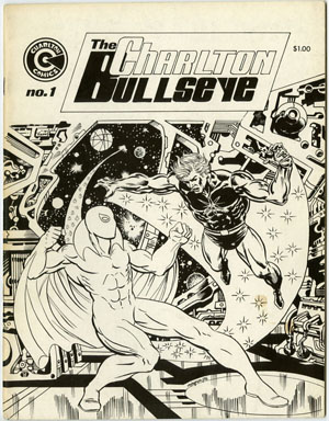CHARLTON BULLSEYE #1 (1975) STEVE DITKO BLUE BEETLE