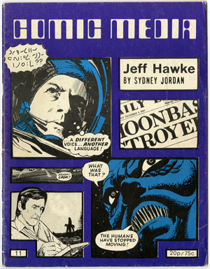 COMIC MEDIA #11 (1973) FANZINE DAVE GIBBONS / SPIRIT