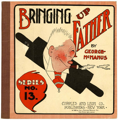 BRINGING UP FATHER BOOK #13 by GEORGE McMANUS (1928)