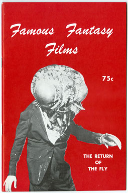 FAMOUS FANTASY FILMS #1 (1968) FANZINE FORBIDDEN PLANET