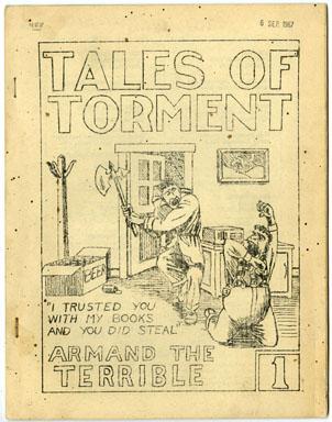 TALES OF TORMENT #1 (1963) FANZINE JOHN STOCKMAN