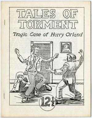TALES OF TORMENT #12 1/2 (1971) FANZINE  JOHN STOCKMAN