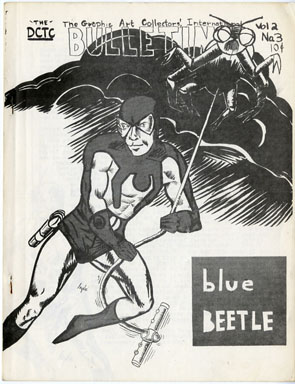 GRAPHIC ART COLLECTORS INTERNATIONAL BULLETIN #1 FANZINE 1960s