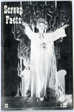 SCREEN FACTS #20 (1969) FANZINE - VIVECA LINDFORS / SHE