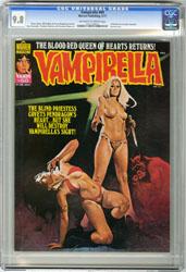 VAMPIRELLA #60 (1977) CGC NM/MT 9.8 OWW Pgs ENRICH COVER