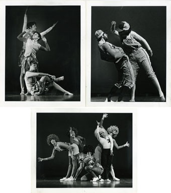 NEWS PHOTOS: WAYNE STATE DANCE CO. (1981) DAVID KRYSZAK - 3 photos