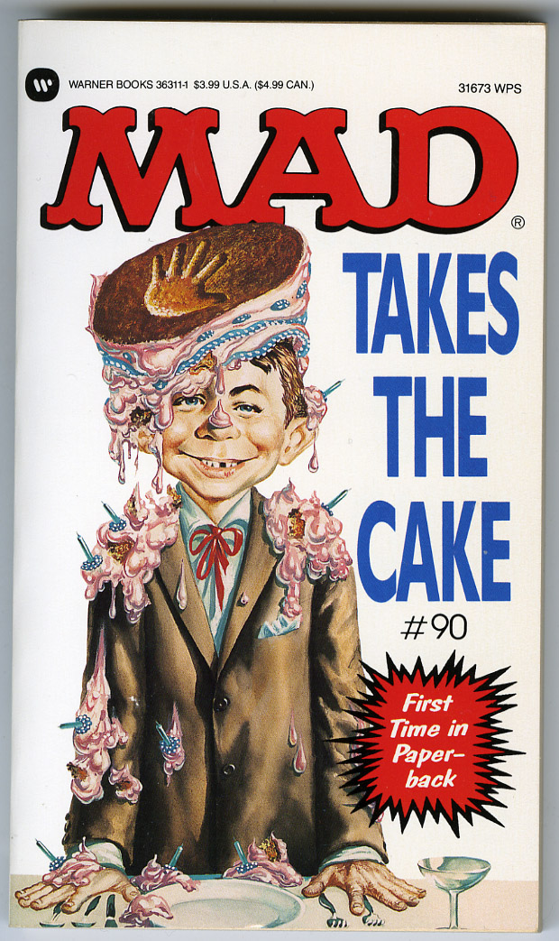MAD TAKES THE CAKE - 1st WARNER Print ANNIE GAINES Copy