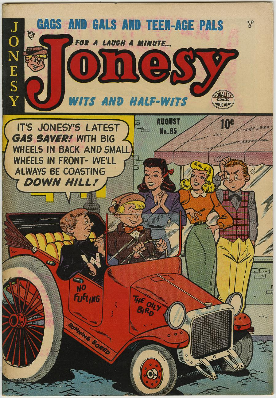 JONESY #85(1) Davis Crippen D COPY (Quality, 1953)