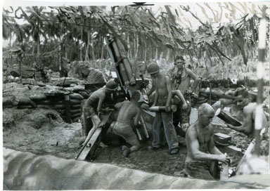 AP NEWS PHOTO: U.S. MARINES IN THE PACIFIC (WWII) 1944