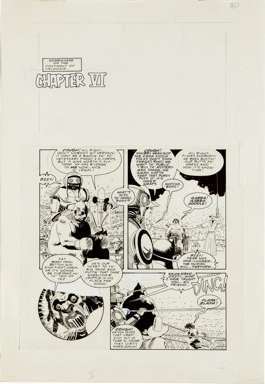 ARTHUR SUYDAM - CHOLLY AND FLYTRAP #2 PAGE 21 ORIG ART