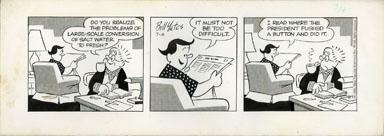 BILL YATES -PROF PHUMBLE DAILY ART 07-4-61 PRESIDENT