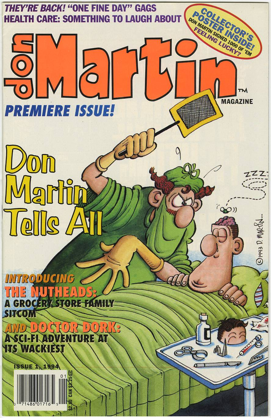 DON MARTIN Magazine #1 thru 3 - Hard to Find HIGH GRADE