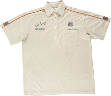 MIAMI DOLPHINS - BOB GRIESE SIGNED ALUMNI POLO SHIRT