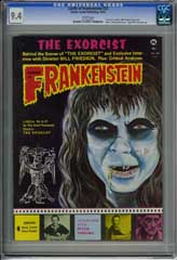 CASTLE OF FRANKENSTEIN #22 CGC NM 9.4 WHT Pg - EXORCIST