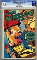 DON WINSLOW OF THE NAVY #63CGC NM 9.4 OW Pg CROWEY Copy