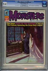 FAMOUS MONSTERS OF FILMLAND #61 (1970) CGC NM 9.4 OWW