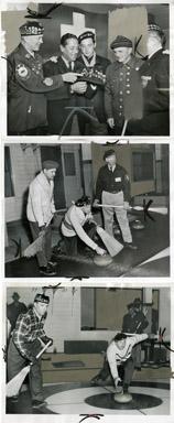 NEWS PHOTO: THE DETROIT CURLING CLUB (1957)