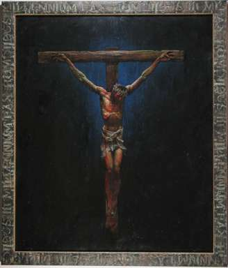 SIMON BISLEY - Large CRUCIFIXION - Illustrations From the BIBLE