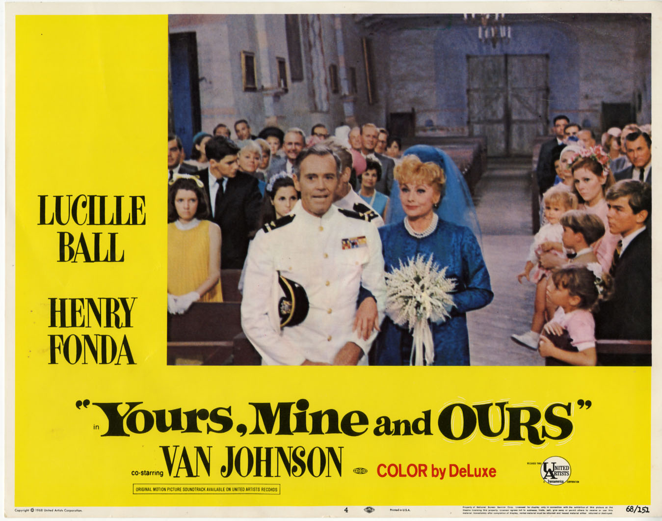 Lucille Ball yours mine and ours