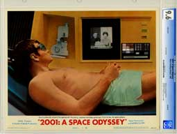 2001: A SPACE ODESSEY (1968) CGC LOBBY CARD SET OF 8