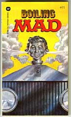 BOILING MAD - 6th WARNER BOOKS (1973) GAINES FILE Copy