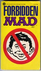 FORBIDDEN MAD Paperback - 1st WARNER BOOK Print (1984)