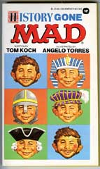 HISTORY GONE MAD Paperback- 1st WARNER BOOKS Print 1977